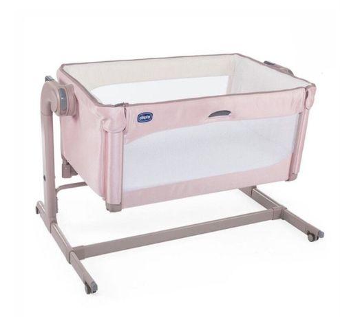 Дитяче ліжко Chicco Next 2 Me Magic рожевий