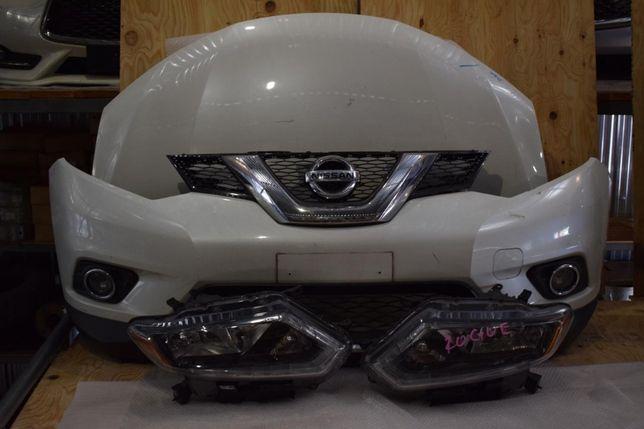 Nissan X-Trail T32/ Rogue 2016 бампер, капот, фары, крышка багажника.