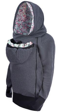 Bluza dla dwojga Greyse roz 40 l xl chusta nosidło