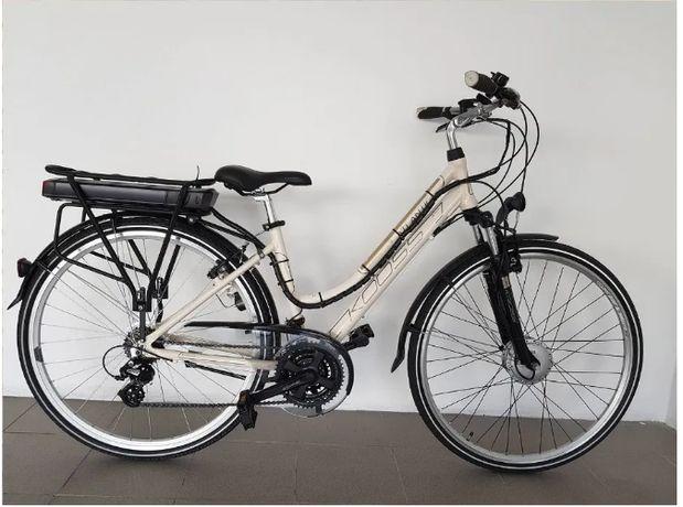 Bicicleta elétrica Kross Transatlantic kit Bafang