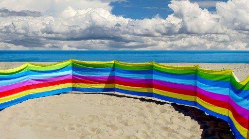 Parawan plażowy Nowy
