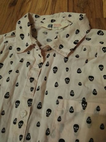 Kremowa koszula H&M