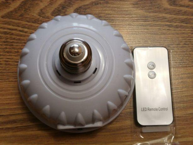 Аккумуляторная светодиодная лампа-фонарь Yajia YJ-9815 + пульт Д/У