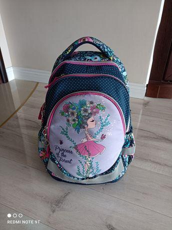 Plecak princess kwiaty