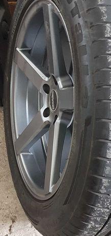 Audi Q5 Q7 A6 A7 A8 Felgi 19 +opony lato 5x112 ET 35