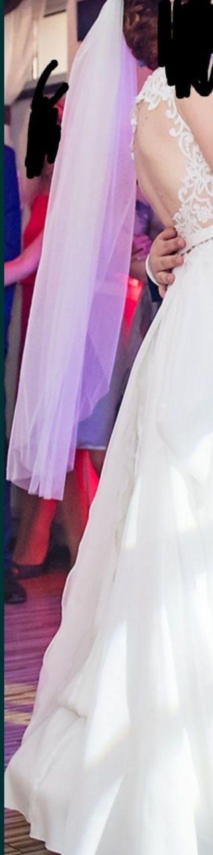 Welon ślub suknia ślubna