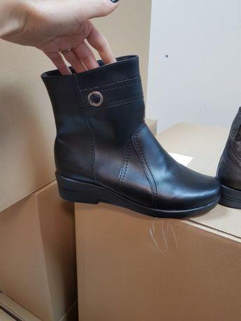 Bancine ciepłe buty za kostkę 40 ocieplane