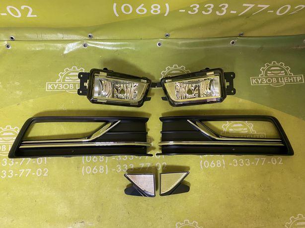 VW Passat B8 2016 2017 2018 пассат накладка туманки туманка габарит
