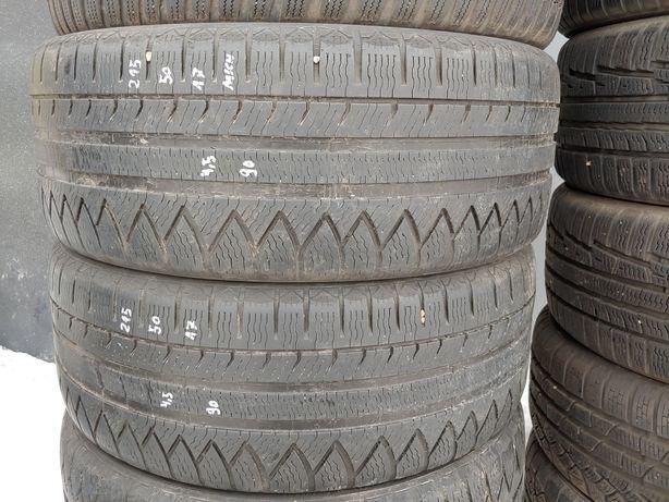 2X opony zimowe Michelin 215/50/17 MONTAŻ Reda
