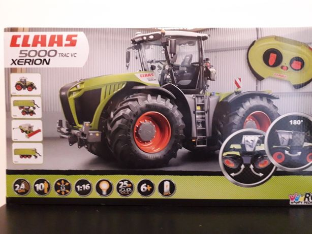 Traktor Claas Xerion RC sterowany kompatybilny z Bruder gigant