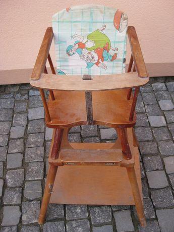 дитячий стільчик трансформер дерев