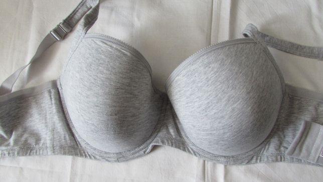 Stanik biustonosz 85E nowy bawełna Esmara