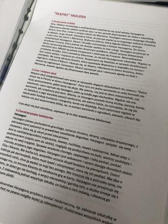 Notatki z lektur i z epok