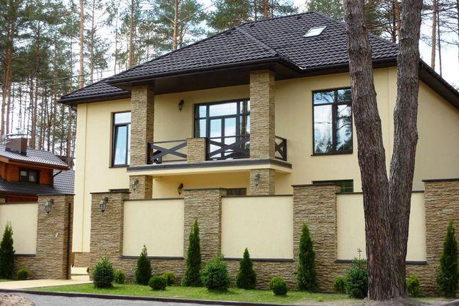 Дом с дизайнерским ремонтом 300м.кв. на 10 сотках