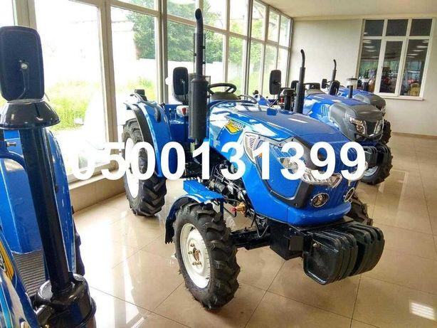 Новий трактор ОРІОН RD DW 244 Реверс 8+8 Широкі колеса