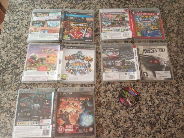 Lote de videojogos PS3
