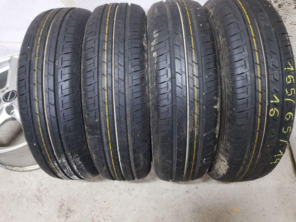 Opony Letnie Nowe-Demo R14 165/65-Bridgestone 16Rok