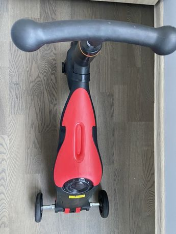 3в1 велобег-самокат-велосипед