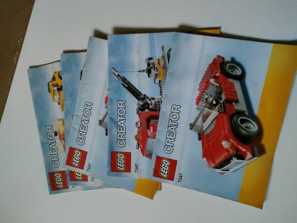 LEGO Instrukcje Z Zestawu 7347