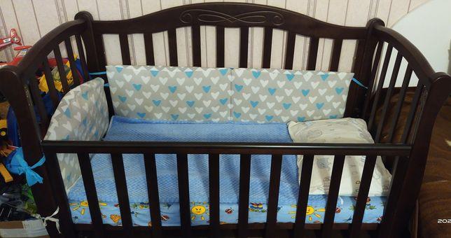 СРОЧНО!!!  Кроватка детская Baby Dream Prestige 5 + матрас Венето
