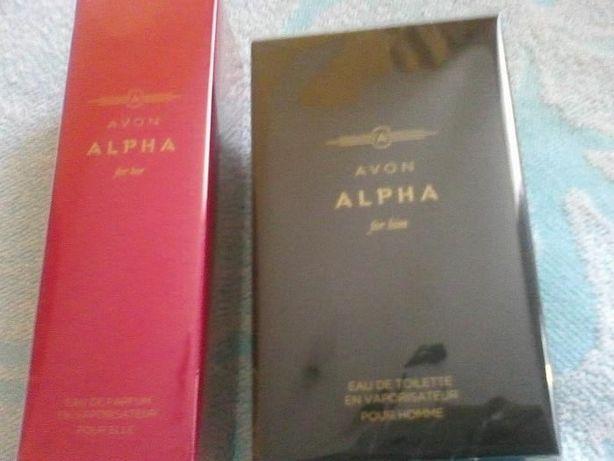 AVON Alpha dla Niej / dla Niego perfumy na prezent
