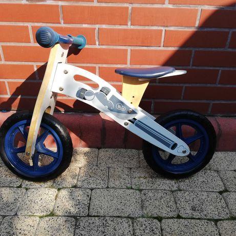 Rowerek biegowy Kinderkraft drewniany