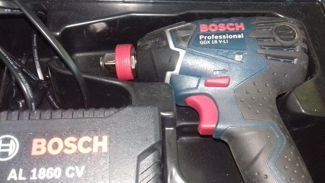 Zakrętarka udarowa Bosch GDX 18 V-LI