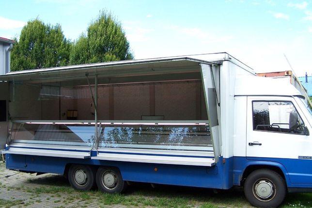 Auto Food Truck Mercedes MB 100 Ryba, Mięso, Wędlina, Gastronomia itd