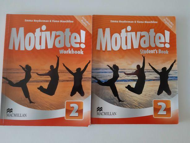 Livros de Inglês Motivate! 2 com CD