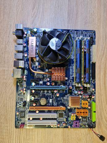 6gb Zestaw płyta główna , ram,procesor. GA-p35-ds3p