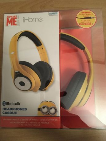 Słuchawki - iHome Bluetooth - Minionki - NOWE! Wysyłka w 24h!