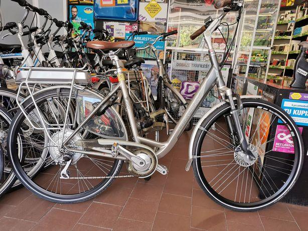 Holenderski rower elektryczny Trek