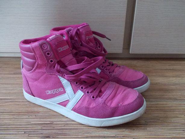 Buty wysokie KAPPA różowe 39/40-26,5cm Skóra