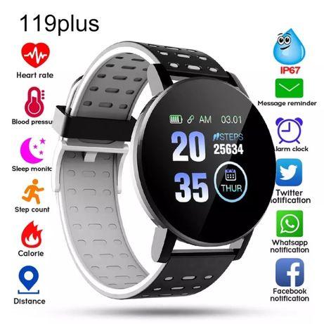 Smartwatch 119 Plus (disponivel na cor cinzenta)