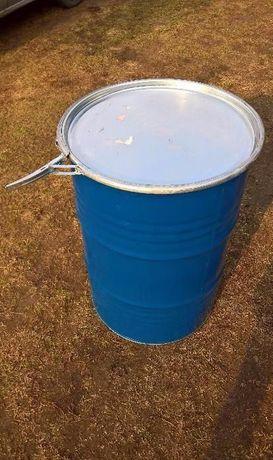 Beczka metalowa 200L po spożywce na wędzarnie,wodę, miód, zboże
