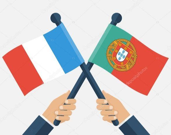 Traduções Port.-Francês/Inglês e Francês/Inglês-Português