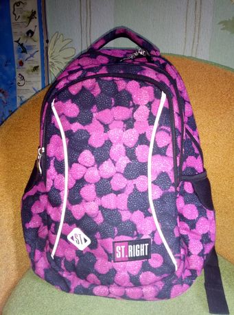 Рюкзак St.Right школьный  для девочки 1-4 класс