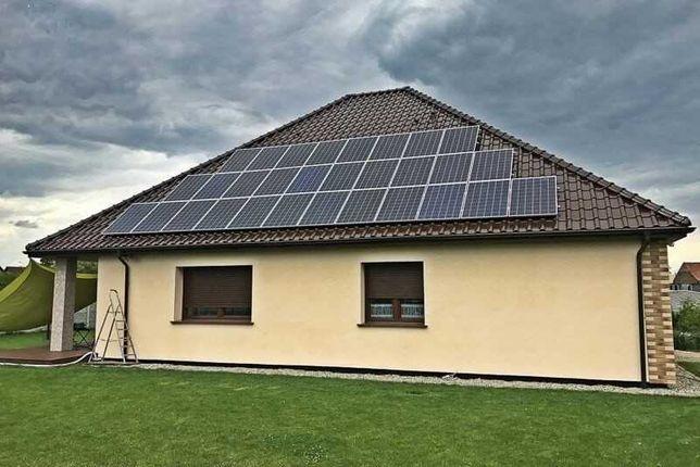 Fotowoltaika - instalacja fotowoltaiczna 6,3 kWp z montażem !!