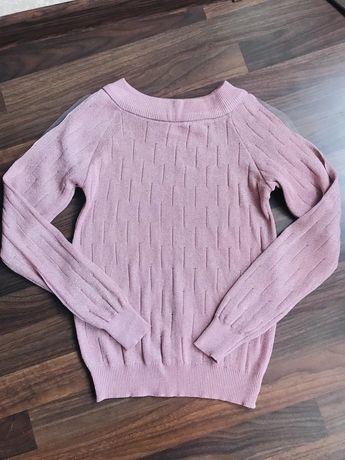 Нарядный свитер с люрексовой ниткой