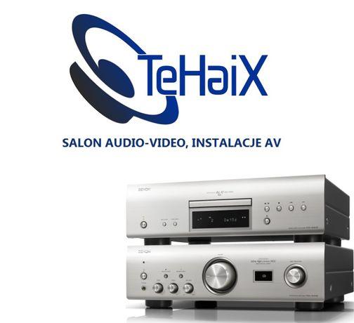 DENON PMA 1600 DCD 1600 wzmacniacz odtwarzacz zestaw stereo