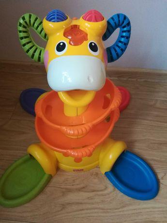 Żyrafka zjeżdżalnia na piłeczki Fisher Price