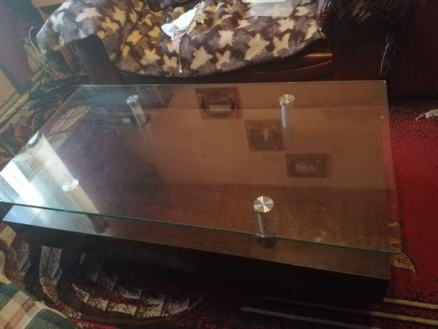 STÓŁ szklany 60x120
