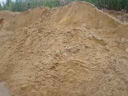 Żółta ziemia piach