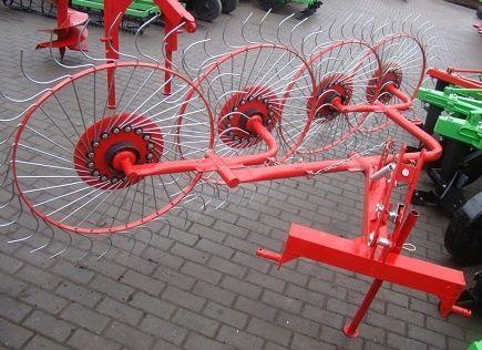 Граблі ворушилки на 4 колеса грабли ворошилки Агромех