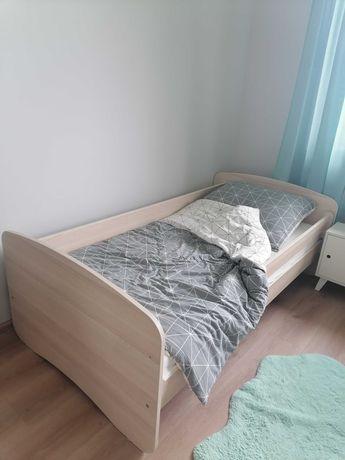 Łóżko 180 x 90 dla dziecka z materacem