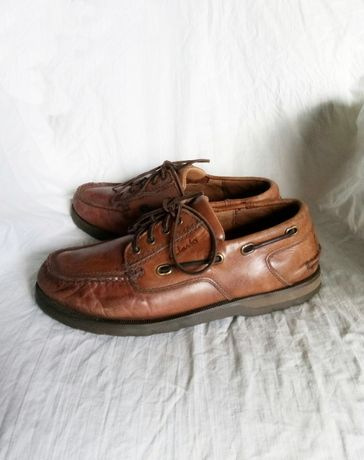 Мокасины - топсайдеры Clarks 42 р. 27 см. по стельке . Туфли