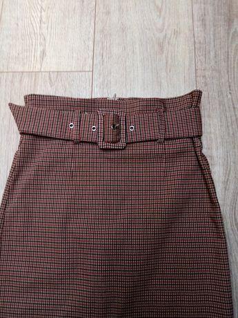 Spódnica Amisu z paskiem rozmiar 34 XS