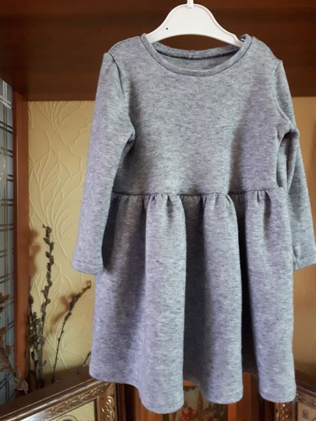 Теплое платье ангоровое