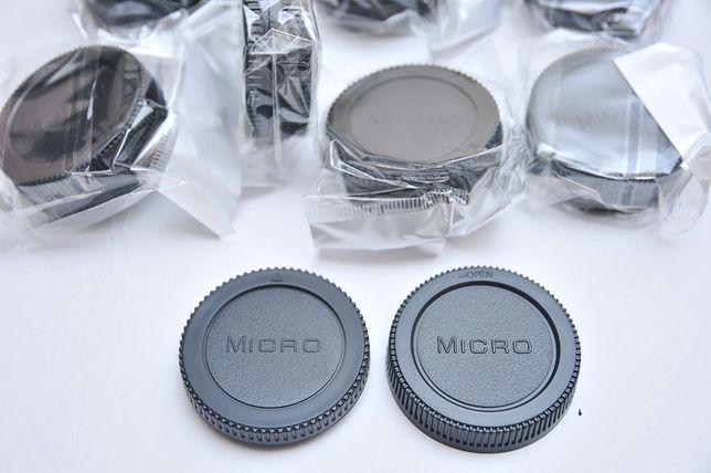 Задняя крышка объектива+заглушка байонета Micro 4/3 Olympus Panasonic