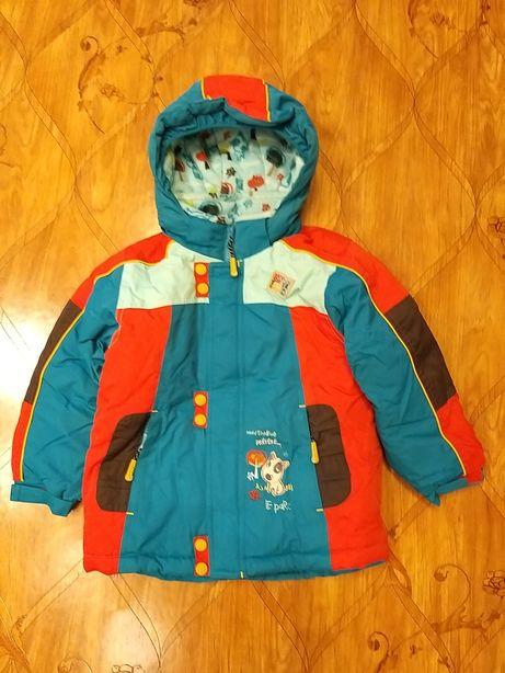 Детский зимний комбинезон (рост 100-107см)